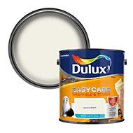 Dulux Easycare Jasmine white Matt Emulsion paint, 2.5L