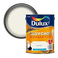 Dulux Easycare Jasmine white Matt Emulsion paint, 5L