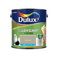 Dulux Easycare Kitchen Overtly olive Matt Emulsion paint, 2.5L