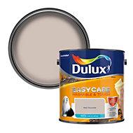 Dulux Easycare Malt chocolate Matt Emulsion paint, 2.5L