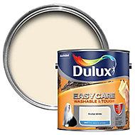 Dulux Easycare Orchid white Matt Emulsion paint, 2.5L