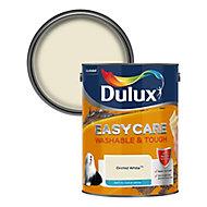 Dulux Easycare Orchid white Matt Emulsion paint, 5L