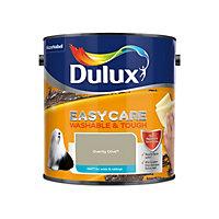Dulux Easycare Overtly olive Matt Emulsion paint, 2.5L