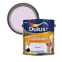 Dulux Easycare Pretty pink Matt Emulsion paint 2.5L