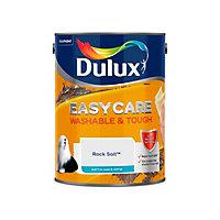 Dulux Easycare Rock salt Matt Emulsion paint, 5L