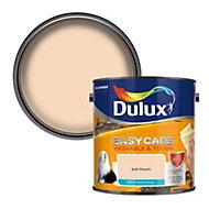 Dulux Easycare Soft peach Matt Emulsion paint, 2.5L