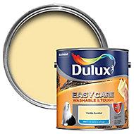 Dulux Easycare Vanilla sundae Matt Emulsion paint, 2.5L