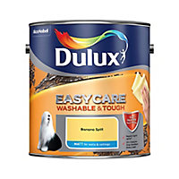 Dulux Easycare Washable & tough Banana split Matt Emulsion paint, 2.5L