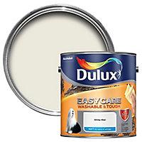 Dulux Easycare White mist Matt Emulsion paint, 2.5L