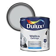 Dulux Goose down Matt Emulsion paint, 2.5L