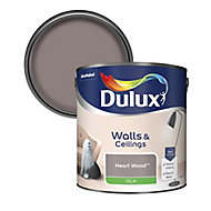 Dulux Heart wood Silk Emulsion paint 2.5L