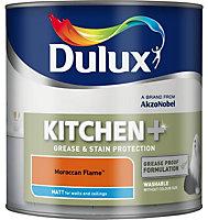 Dulux Kitchen Moroccan flame Matt Emulsion paint 2.5L