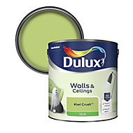 Dulux Kiwi crush Silk Emulsion paint, 2.5L