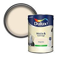 Dulux Luxurious Magnolia Silk Emulsion paint, 5L