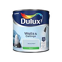 Dulux Luxurious Mineral mist Silk Emulsion paint, 2.5L