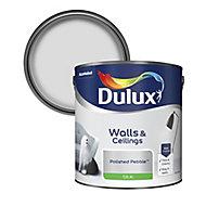 Dulux Luxurious Polished pebble Silk Emulsion paint, 2.5L