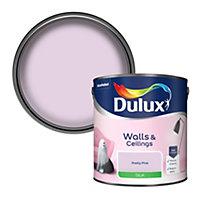 Dulux Luxurious Pretty pink Silk Emulsion paint 2.5L