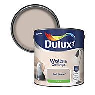 Dulux Luxurious Soft stone Silk Emulsion paint, 2.5L