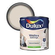 Dulux Natural hessian Silk Emulsion paint, 2.5L