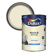 Dulux Natural hints Orchid white Matt Emulsion paint, 5L