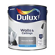 Dulux Natural slate Matt Emulsion paint, 2.5L