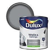 Dulux Natural slate Silk Emulsion paint, 2.5L