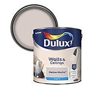 Dulux Neutrals Mellow mocha Matt Emulsion paint, 2.5L
