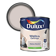 Dulux Neutrals Mellow mocha Silk Emulsion paint, 2.5L