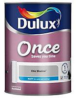 Dulux Once Chic shadow Matt Emulsion paint 5L