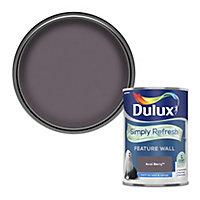 Dulux One coat Acai berry Matt Emulsion paint, 1.25L
