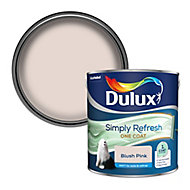 Dulux One coat Blush pink Matt 2.5L