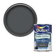 Dulux One coat Cannon ball Matt Emulsion paint, 1.25L