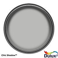 Dulux One coat Chic shadow Matt Emulsion paint, 5L