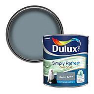 Dulux One coat Denim drift Matt Emulsion paint, 2.5L