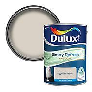Dulux One coat Egyptian cotton Matt Emulsion paint, 5L