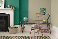 Dulux One coat Emerald glade Matt Emulsion paint, 1.25L