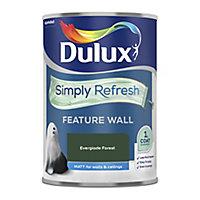 Dulux One coat Everglade forest Matt Emulsion paint, 1.25L
