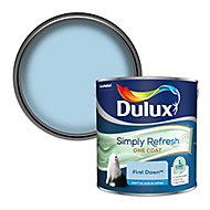 Dulux One coat First dawn Matt Emulsion paint, 2.5L