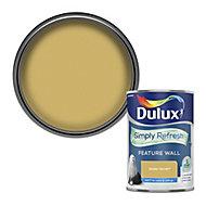 Dulux One coat Golden sands Matt Emulsion paint, 1.25L