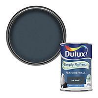 Dulux One coat Ink well Matt Emulsion paint, 1.25L