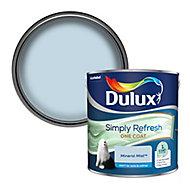 Dulux One coat Mineral mist Matt Emulsion paint, 2.5L