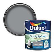 Dulux One coat Natural slate Matt Emulsion paint, 2.5L