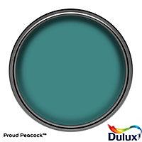 Dulux One coat Proud peacock Matt Emulsion paint, 1.25L