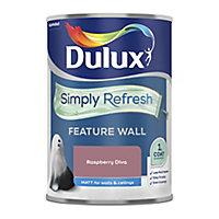Dulux One coat Raspberry burst Matt Emulsion paint, 1.25L