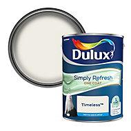 Dulux One coat Timeless Matt Emulsion paint, 5L