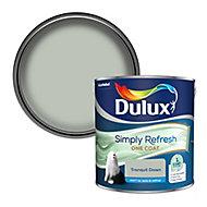Dulux One coat Tranquil dawn Matt Emulsion paint, 2.5L