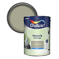 Dulux Overtly olive Matt Emulsion paint 5L