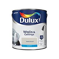 Dulux Pebble shore Matt Emulsion paint, 2.5L