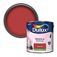 Dulux Pepper red Silk Emulsion paint, 2.5L