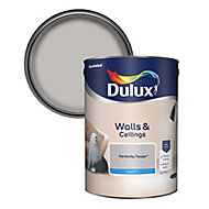 Dulux Perfectly taupe Matt Emulsion paint, 5L